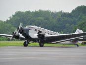 Avioane de tip Ju-52 au fost folosite în cel de-al Dolea Razboi Mondial