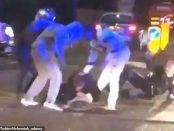 Atac huliganic asupra a doi polițiști londonezi