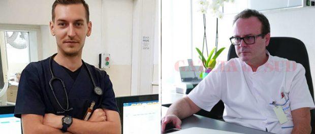 Eugen Țiereanu rezident și Șeful Secției de Cardiologie din Craiova