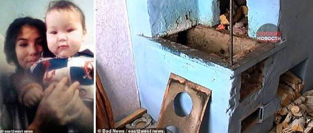 Bebeluș ars de viu de către bunici după ce mama l-a lăsat în grija lor