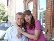Criminala și victima - și-a ucis soțul cu 35 de lovituri de cuțit
