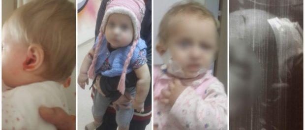 O mamă și-a injectat fetița de 18 luni cu înălbitor pentru că nu o iubea