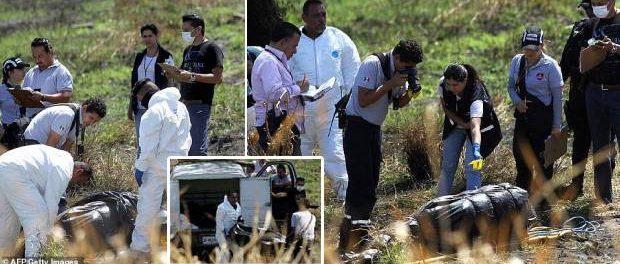 19 cadavre găsite într-un canal de ape reziduale