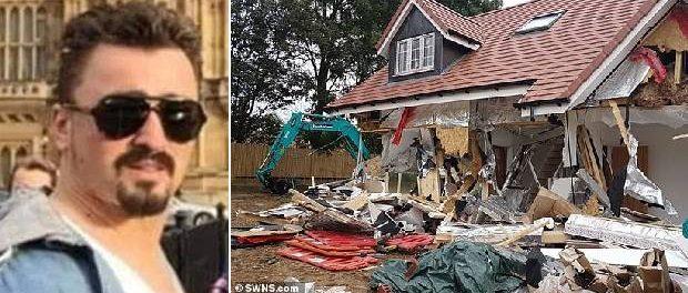 Românul care a distrus cinci bungalouri