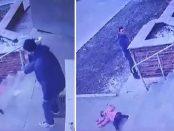 Un tată și-a aruncat fiica pe scări în jos pentru că nu a fost cuminte la supermarket