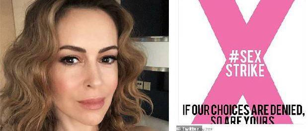 Actrița Alyssa Milano le cere femeilor să intre în GREVĂ SEXUALĂ