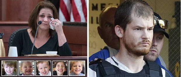 Bărbatul care și-a ucis cinci copii pledează nevinovat invocând nebunia