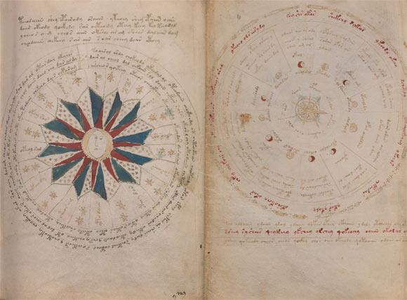 Manuscrisul Voynich (© Voynich manuscript)