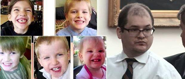 Bărbatul care și-a ucis prin sugrumare pe toți cei cinci copii ai săi a fost condamnat la moarte
