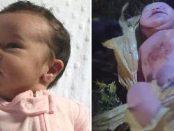 Fetița abandonată la marginea drumului are peste 1000 de cereri de adopție