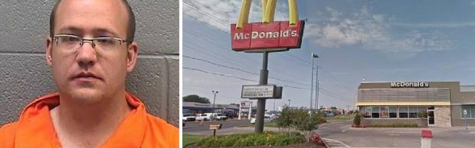 Bărbatul care a violat o fetiță de patru ani în toaleta unui restaurant McDonald's