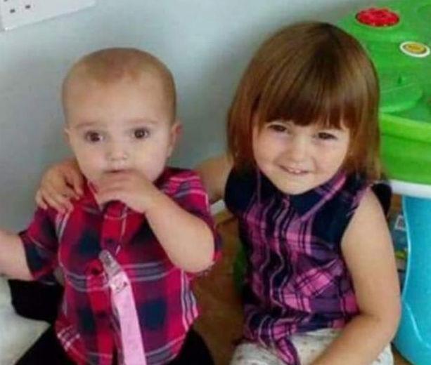 Lexi(dreapta) și Scarlett(stânga) fetițele ucise de mama lor