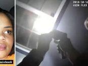 Tânără de culoare împușcată în propria casă de un polițist alb