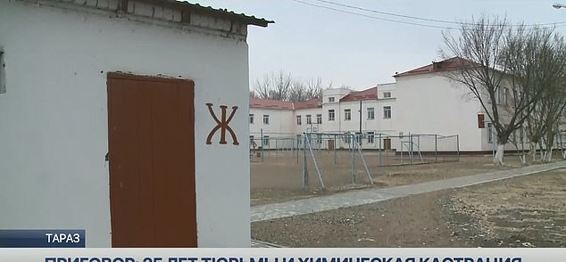 Toaleta din curtea școlii unde a fost atacată fetița
