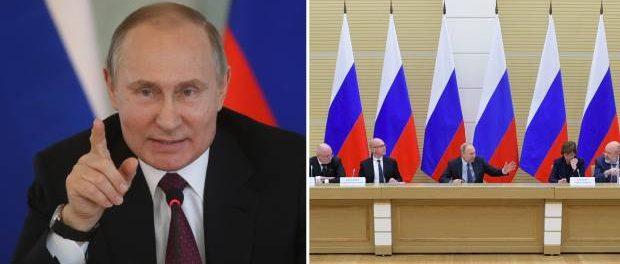 Vladimir Putin susține familia tradițională la modificarea Constituției