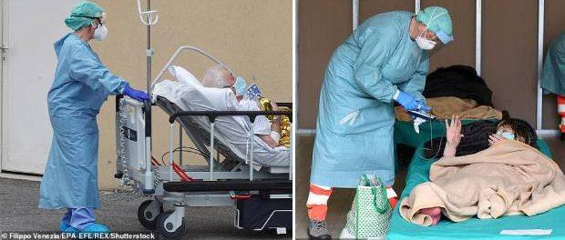 Bătrânii peste 80 de ani nu vor primi tratament dacă situația se înrăutățește în ITALIA