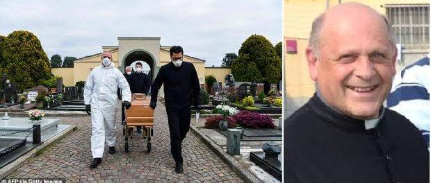 Giuseppe Berardelli a cedat aparatul respirator unui pacient mai tânăr