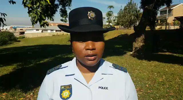 Purtătoarea de cuvânt a poliției din Africa de Sud