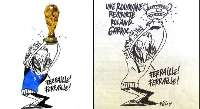Charlie Hebdo facuta KO