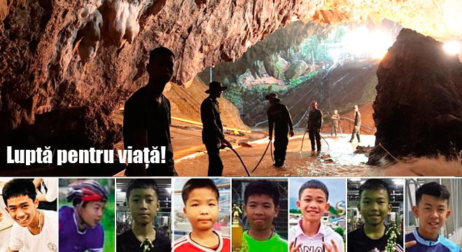 Baieti salvati în operatiunea din Tailanda