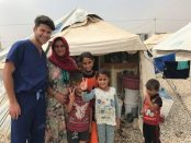 Medicul Andrei Alin Abrudan voluntar în Irak