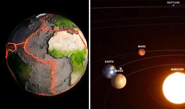 Alinierea planetelor ar putea provoca un cutremur uriaș