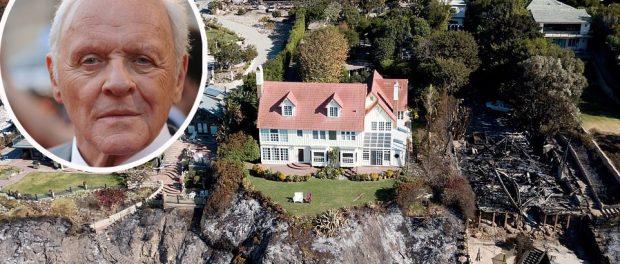 Casa lui Anthony Hopkins din Malibu a scăpat neatinsă de incendiul devastator din Malibu