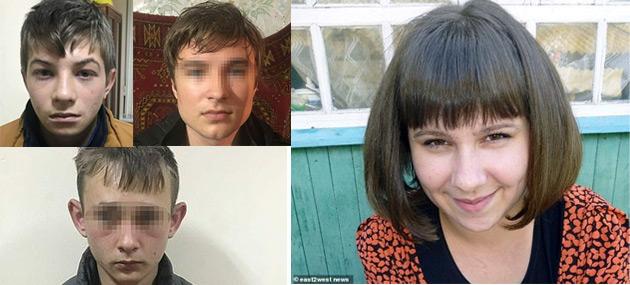Anastasia Orlova din Rusia a fost violată și ucisă de trei adolescenți
