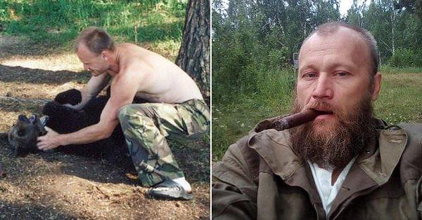 Vânătorul care a fost ucis de ursul pe care l-a crescut de pui