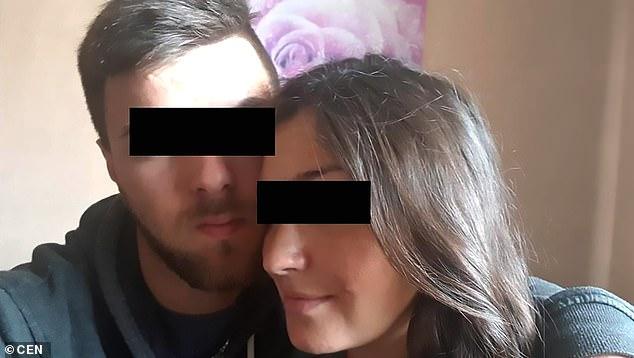 Ismail S, 23 de ani și Nina R 26 de ani cele două bestii care și-au abuzat bebelușul