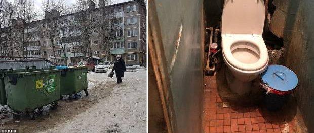 O rusoaică și-a aruncat nou-născutul la tomberon imediat după naștere