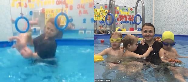 """Antrenoarea de înot acuzată de """"TORTURAREA"""" copiilor cu dizabilități"""