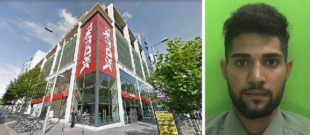 Un român a fost prins furând într-un magazin TK Maxx din Nottinhgam