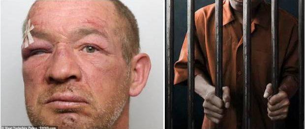 Pedofil bătut măr de colegul de celulă ca răzbunare că a violat o fetiță