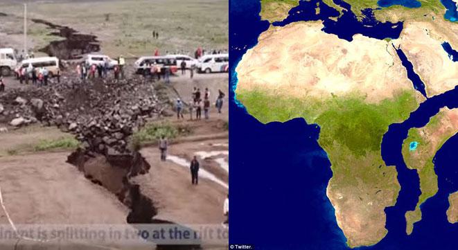 Se rupe Africa în două?