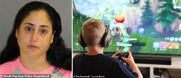 Mama care și-a lovit fiul atât de tare încât i-a dislocat maxilarul pentru că se juca Fornite