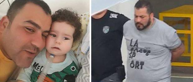 Tatăl care a fugit cu 150.000 $ strânși pentru tratamentul copilului