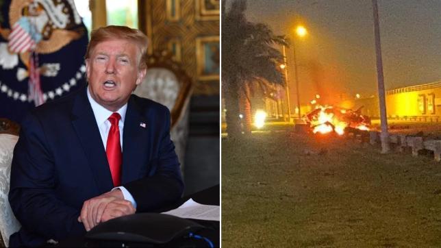 Donald Trump a ordonat atacul care l-a ucis pe generalul iranian Soleimani
