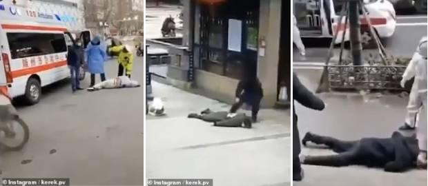 Virusul ucigaș lovește în plină stradă în orașul Wuhan din China