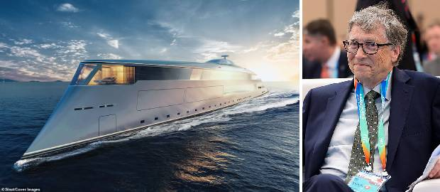 Bill Gates va construi un superiaht de lux ecologic