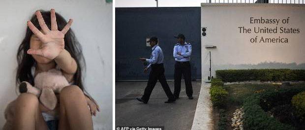O fetiță de cinci ani a fost violată în sediul ambasadei SUA din India