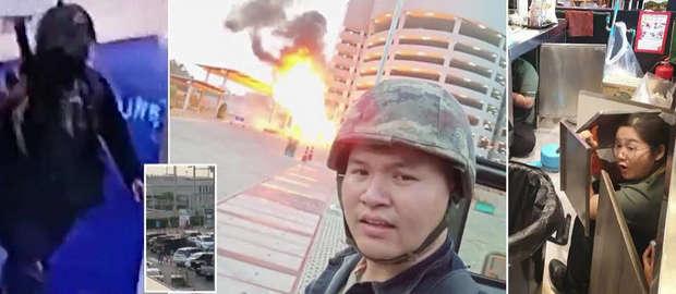 Un soldat thailandez a provocat un adevărat masacru după ce a ucis 17 persoane și a rănit alte 21
