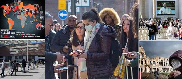 Un sfert din populația Italiei pusă în carantină de premierul italian