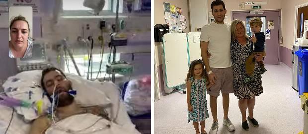 A supraviețuit coronavirusului după ce a fost 30 de zile conectat la un ventilator