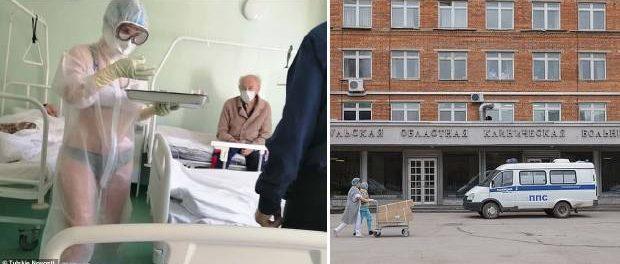 Asistentă sancționată pentru că purta doar lenjerie de corp pe sub halatul de protecție la un spital COVID