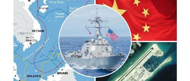 China își flexează mușchii pentru a-și afirma militar controlul în Marea Chinei de Sud