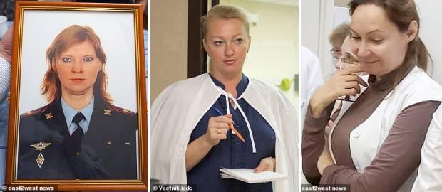 Natalya Shcherbakova, Yelena Nepomnyashchaya și Natalya Lebedeva, trei dintre medicii căzuți pe fereastră