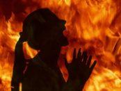 Adolescenta incendiata