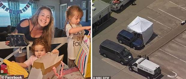 O mamă a fost găsită moartă într-o parcare împreună cu fiicele sale de 2 și 4 ani