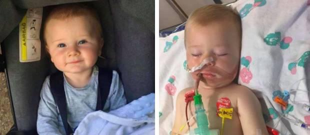 Bebeluș în comă după ce a mușcat dintr-o capsulă de detergent lichid
